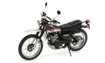 YAMAHA XT 500, dark blue/white