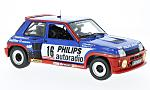 RENAULT R5 Turbo Gr.B, No.16, Philips, Rallye WM, tour de Corse