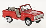 FORD Bronco Roadster, red