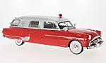 PACKARD Henney Amubulance, red/silver, ambulance