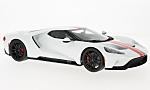 FORD GT, white/red