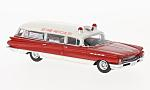 BUICK Flxible Premier Amubulance, white/red, ambulance