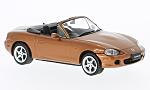 MAZDA MX-5 Roadster, metallic-dark orange, RHD