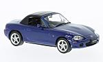 MAZDA MX-5 Roadster, metallic-Bl, RHD