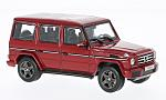 MERCEDES G-Class (W463), metallic-red