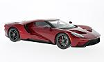FORD GT, metallic-dark red