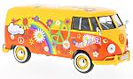 VW T1, yellow/Decorated