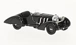 MERCEDES  SSK Count Trossi, black, the black Prinz