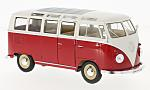 VW T1 samba, red/white