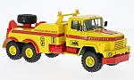 KRAZ 260 BRO-200, yellow/red