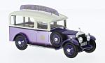 ROLLS ROYCE 20HP, purple/white, RHD, S.Luca Ice Cream Van