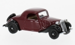 CITROEN traction Avant faux Convertible, dark red/black