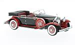 ROLLS ROYCE Phantom II Brewster Newmarket Permanent sport Sedan Convertible, black/red