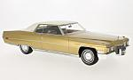 CADILLAC Coupe Deville, gold/white