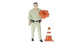 FIGUR Highway Patrol - Collecting Traffic Cones