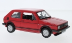 VW Golf MKI GTI, red