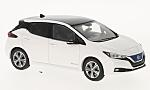 NISSAN Leaf, white