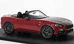 ABARTH 124 Spider, metallic-red/black