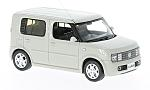 NISSAN Cube, light grey, RHD