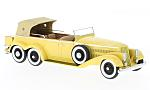 HISPANO-SUIZA H6A Victoria Town Car, yellow, RHD