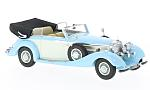 MERCEDES 540K Convertible B, light blue/white, RHD