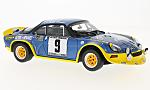 ALPINE RENAULT A110 Turbo, No.9, Rally Cevennes