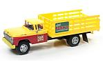 FORD Stake Bed Truck, yellow/red, Funks Hybrids