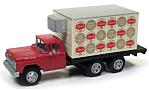 FORD Refrigerated Levering Truck, red, Schaefer Beer