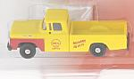 FORD F-100 Pick Up, yellow, Shell Oil service