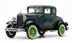 FORD Model a Coupe, green/dunkelgreen