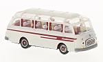 SETRA Southern 6, light grey/red