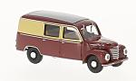 FRAMO V901/2 half bus, dark red/dunkelbeige