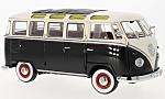 VW T1 samba, black/white
