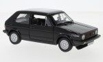 VW Golf MKI GTI, black