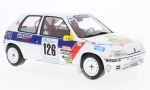 PEUGEOT 106, No.126, Rallye National of Vins Macon