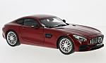 MERCEDES AMG GT (C190), metallic-red