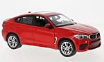 BMW X6M, red