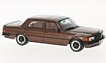 MERCEDES AMG 450 SEL 6.9 W116, metallic-dark brown