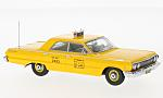 CHEVROLET Biscayne, yellow, N.Y.C taxi