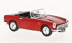 HONDA S800, red, RHD