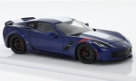 CHEVROLET Corvette Grand sport, metallic-dark blue/white