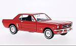 FORD Mustang Coupe, red
