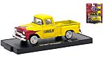 GMC 100 Stepside, yellow/red, Earls