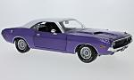 DODGE Challenger wheels/doors, metallic-purple/white, Graveyard Carz