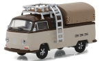 VW T2 Double Cab Pick Up, light brown/brown