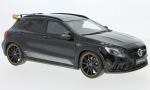 MERCEDES AMG GLA 45 Yellow Night Edition, black