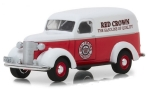 CHEVROLET Panel Truck, red/white, Red Crown Gasoline
