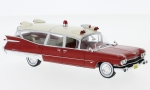 CADILLAC Miller-Meteor, rot/beige, Ambulance