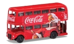 AEC Routemaster London Christmas Bus, red, Coca Cola