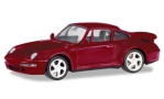 PORSCHE 911 (993) Turbo, metallic-dark red
